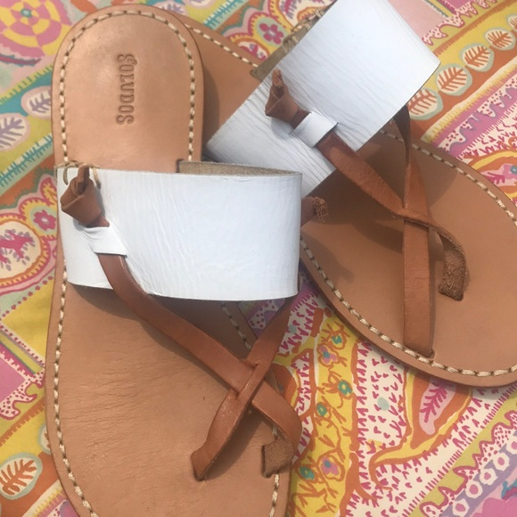 Soludos Shoes - Soludos Leather Thong Sandal 6